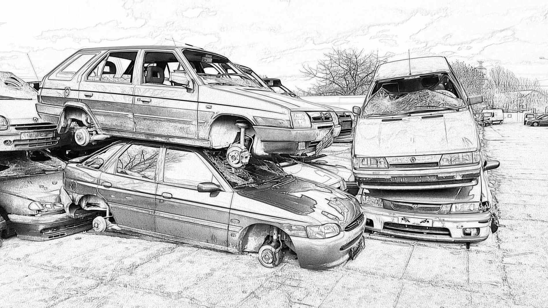 Výkup autovraku a likvidace aut